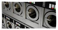 Industrial Washing Machine Beach Towel