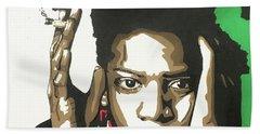 Jean-michel Basquiat Beach Sheet