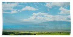 Kula Maui Hawaii Beach Towel by Sharon Mau