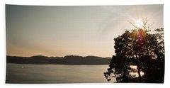 Lake Cumberland Sunset Beach Towel