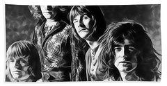 Led Zeppelin Collection Beach Towel by Marvin Blaine
