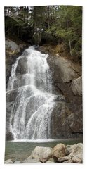 Moss Glen Falls Beach Sheet by Catherine Gagne