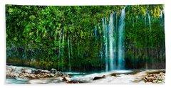 Mossbrae Falls Beach Towel