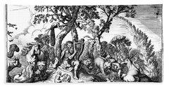 Mythology: Orpheus Beach Towel
