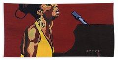 Nina Simone Beach Towel