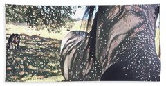 Nosey Belle Beach Towel