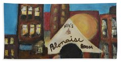Beach Towel featuring the painting Nye's Polonaise Room by Susan Stone