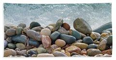 Ocean Stones Beach Towel