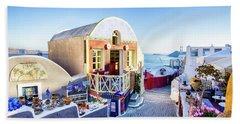 Oia, Santorini - Greece Beach Sheet