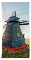 Old Mill Beach Towel by Mike Santis
