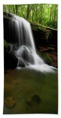 Otter Falls - Seven Devils, North Carolina Beach Towel