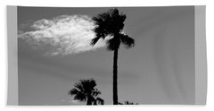 3 Palms Beach Towel by Janice Westerberg