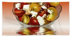 Plum Cherry Tomatoes Beach Sheet