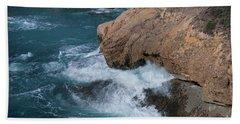 Point Lobos Beach Sheet by Glenn Franco Simmons