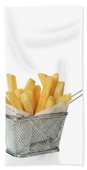 Portion Of Chips Beach Towel