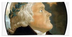 President Thomas Jefferson Beach Towel