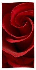 Red Rose I Beach Towel