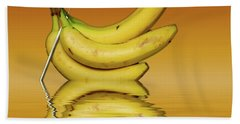 Ripe Yellow Bananas Beach Towel