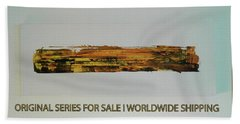 Series Abstract Worlds Only Originals For Sale Worldwide Shipping Beach Sheet