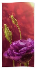 Showy Prairie Gentain Beach Towel