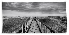 St Andrews Beach Towel by Nichola Denny