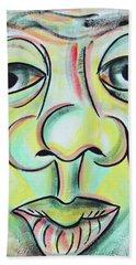 Street Art Beach Towel by Beto Machado