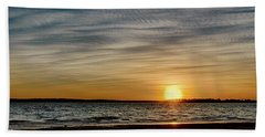 Sunset  Beach Sheet by Doug Long