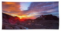 Beach Sheet featuring the photograph The Enchantments by Evgeny Vasenev