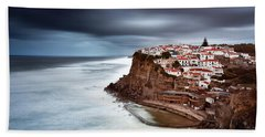 Beach Towel featuring the photograph Upcoming Storm by Jorge Maia