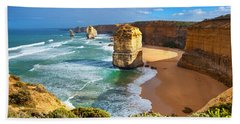 Twelve Apostles Great Ocean Road Beach Towel