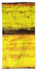 Untitled No. 1 Beach Towel by Julie Niemela