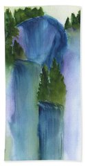 3 Waterfalls Beach Towel