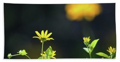 Wild Sunflower Stony Brook New York  Beach Sheet