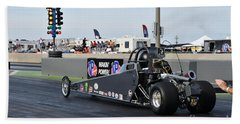 Junior Drag Racing March 2017 Beach Towel
