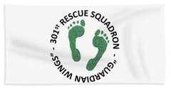 301st Rescue Squadron Beach Towel