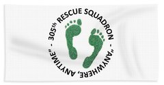 305th Rescue Squadron Beach Towel