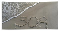 30a Beach Beach Towel by Megan Cohen