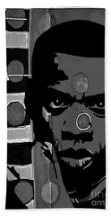 Jay Z Collection Beach Towel by Marvin Blaine