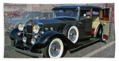 '33 Rolls Royce Beach Sheet by Victor Montgomery
