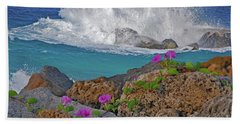 34- Beauty And Power Beach Towel by Joseph Keane