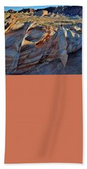 Beach Towel featuring the photograph Colorful Sandstone In Valley Of Fire by Ray Mathis