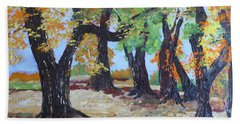 #35 Cottonwood Colors Beach Towel