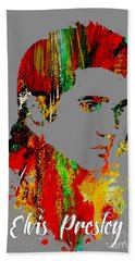 Elvis Presley Collection Beach Towel by Marvin Blaine
