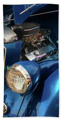 36 Ford 3 Window Coupe Beach Towel by Trey Foerster