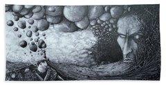 No Title Beach Towel by Mariusz Zawadzki
