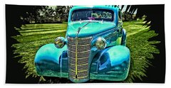 38 Chevy Coupe Beach Towel