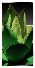 3d Cactus Beach Towel by Darleen Stry