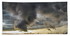 3rd Storm Chase Of 2018 051 Beach Towel