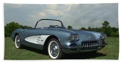 1960 Corvette Beach Sheet