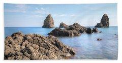 Aci Trezza - Sicily Beach Towel by Joana Kruse